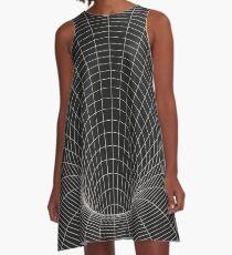 Ereignishorizont A-Linien Kleid