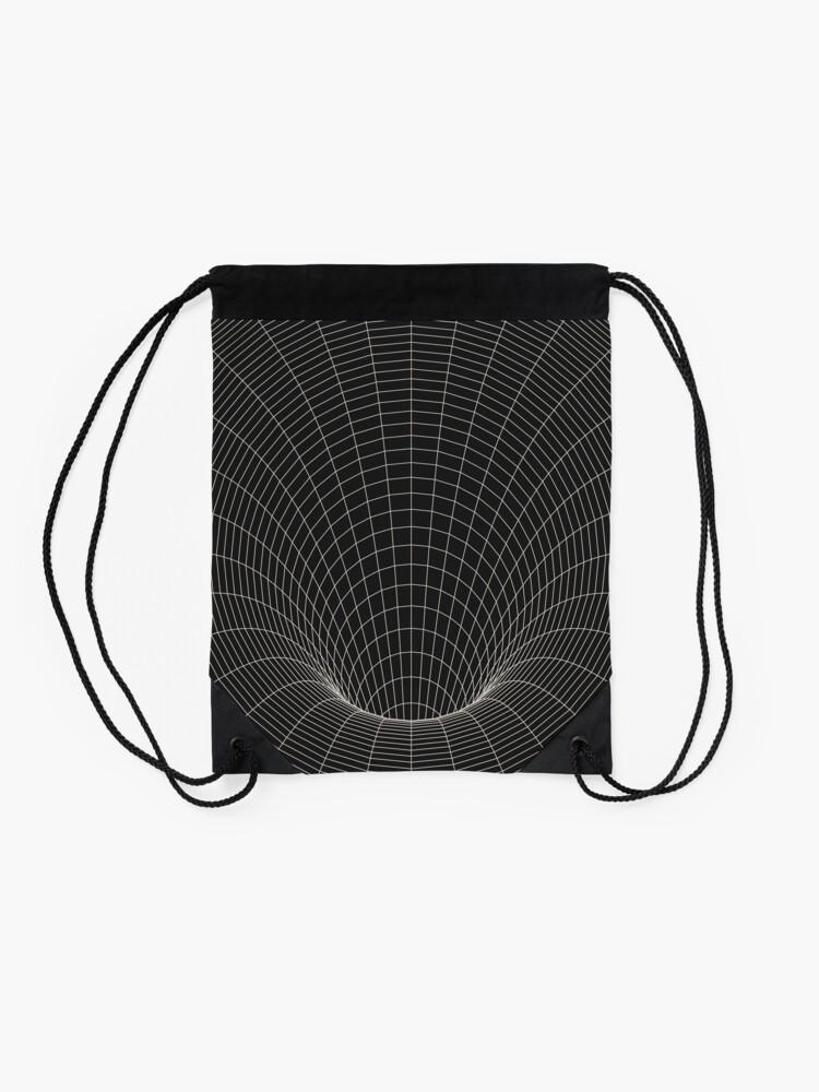 Alternate view of Event Horizon Drawstring Bag