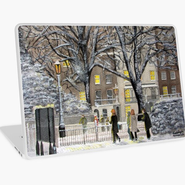 When Time Stops for a Moment - Friday Laptop Skin