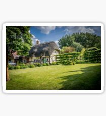 English Thatched Cottage Sticker