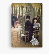 James Tissot - Without A Dowry Canvas Print