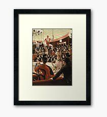 James Tissot - Women Of Paris The Circus Lover (1885) Framed Print