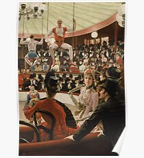 James Tissot - Women Of Paris The Circus Lover (1885) Poster
