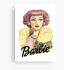 Barbie 1 Canvas Print