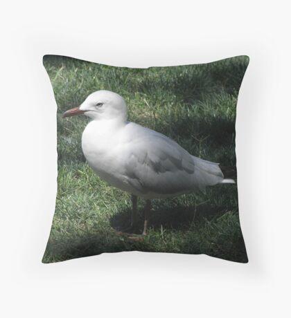 Silent sentry Throw Pillow