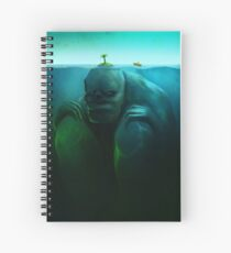 Lonely Island Spiral Notebook