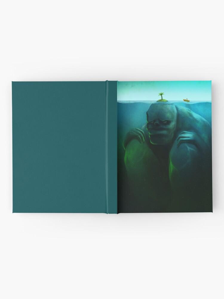 Alternative Ansicht von Einsame Insel Notizbuch