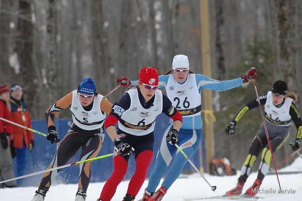 Ski Race 2 by Michelle Jarvie