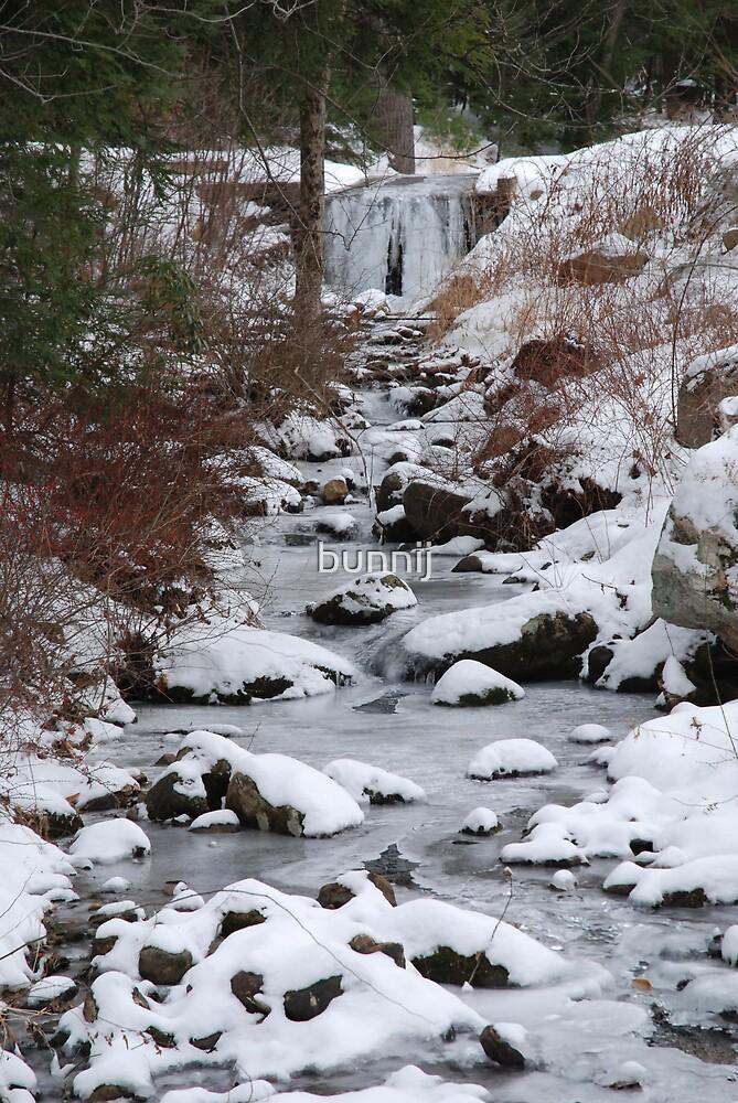 Icy Falls by bunnij