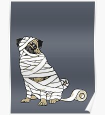 The Mummy Pug Return Poster