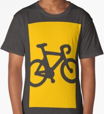 Yellow Bike Long T-Shirt