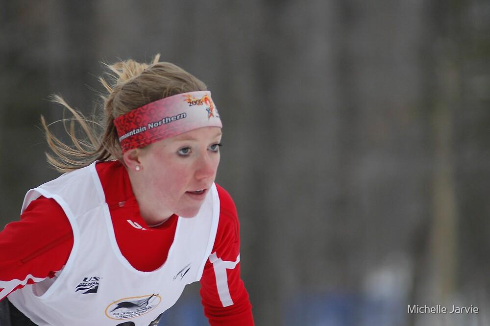 Ski Race 6 by Michelle Jarvie