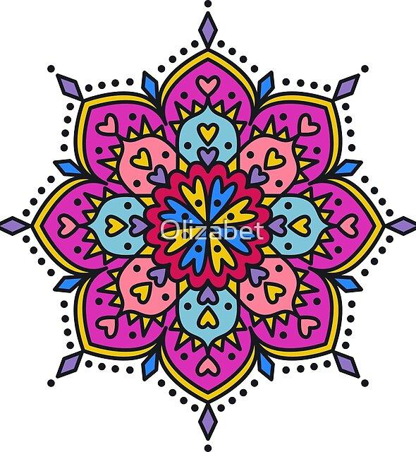 Mandala Thing 3 by Olizabet