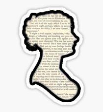 Jane Austen - Pride and Prejudice Sticker