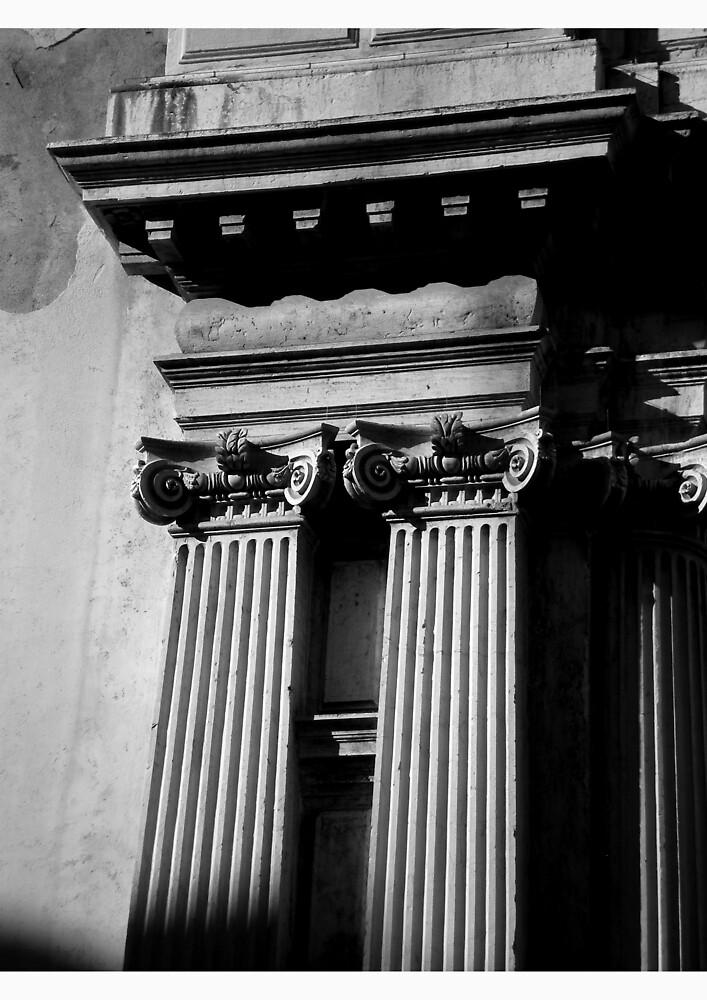Columns, Venice by Tristen Haines