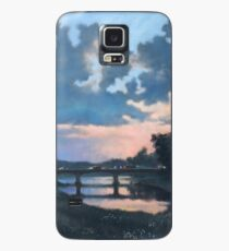 Evening over Varta river Case/Skin for Samsung Galaxy