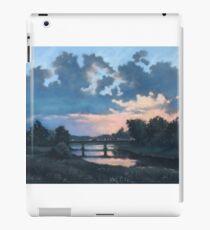 Evening over Varta river iPad Case/Skin