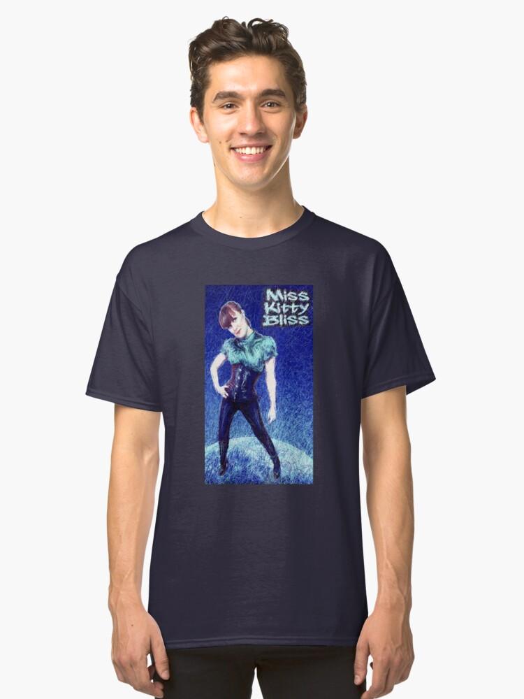 Miss Kitty Bliss, Supervillain, 2013 Classic T-Shirt Front