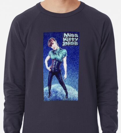 Miss Kitty Bliss, Supervillain, 2013 Lightweight Sweatshirt