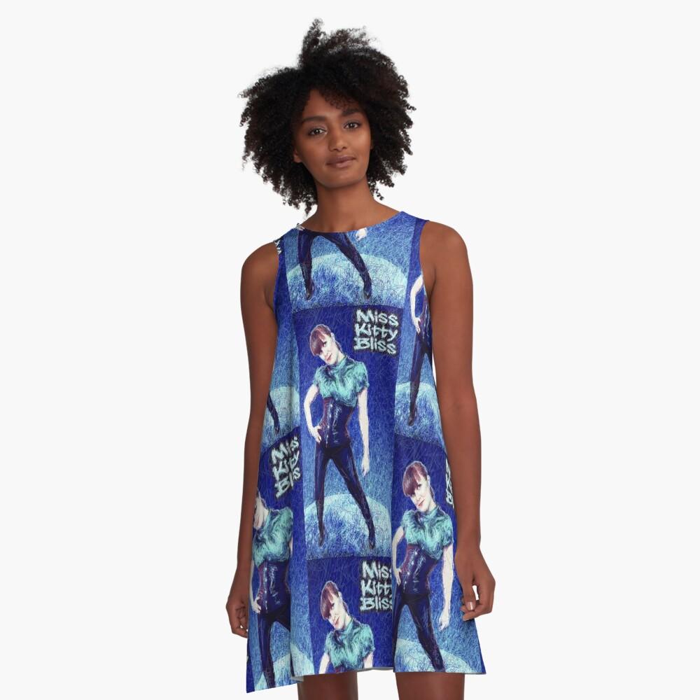 Miss Kitty Bliss, Supervillain, 2013 A-Line Dress Front