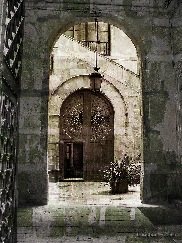 Barcelona Old City 2 by Christian  Frölich
