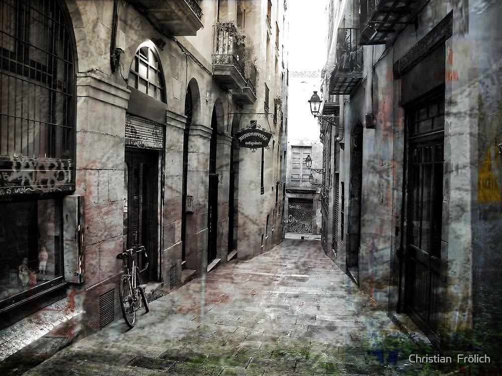 Barcelona Old City 3 by Christian  Frölich