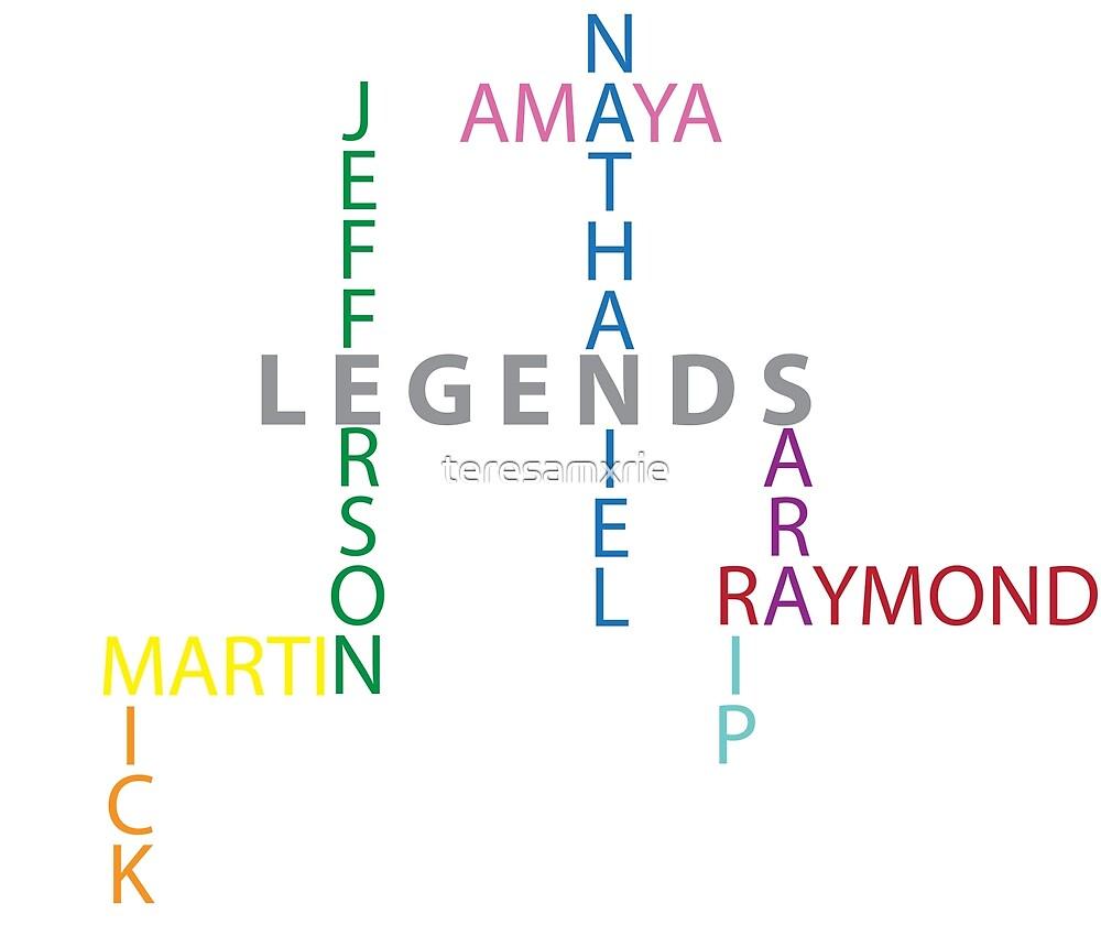D.C.'s Legends of Tomorrow by teresamxrie