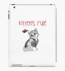 Kittens Rule iPad Case/Skin