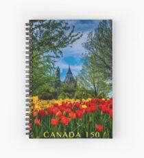 Tulip Festival des Tulipes 2 Spiral Notebook