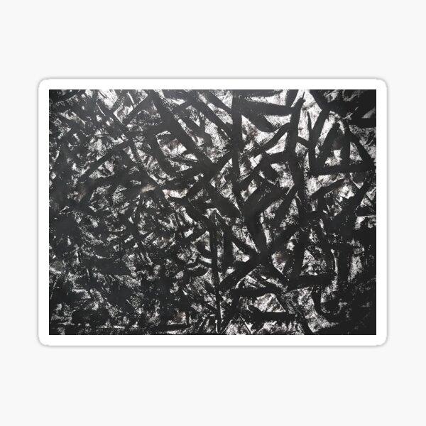 blacke Sticker
