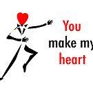 Heart dance Man by Flyinghorse