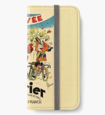 LE TOUR DE FRANCE: Vintage Perrier Water Advertising iPhone Wallet/Case/Skin