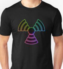 Rainbow AltNuclear Symbol Unisex T-Shirt