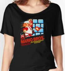 Super Mario Bros. NES Women's Relaxed Fit T-Shirt