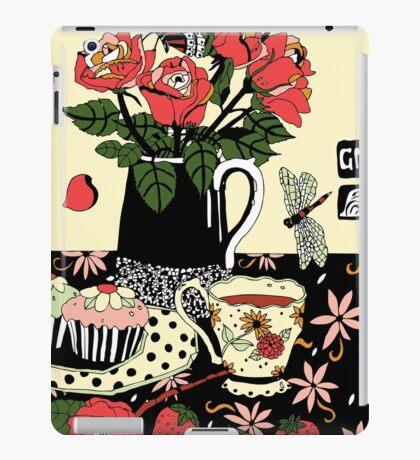 camellia tea with roses iPad Case/Skin