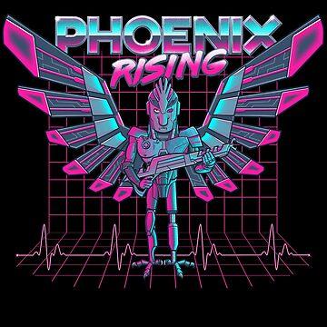 Phoenix Rising by kgullholmen