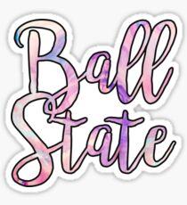 Ball State Sticker