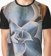 close up of succulent Graphic T-Shirt