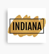 Indiana Canvas Print