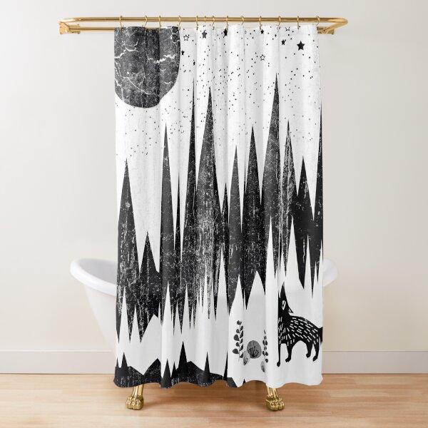 Moonshine Shower Curtain