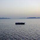 "three islands on background by Antonello Incagnone ""incant"""