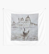calm venice Wall Tapestry