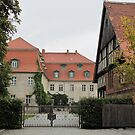 Castle Ahlsdorf in the district Elbe-Elster/Germany by orko