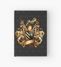 Medieval Coat of Arms Hardcover Journal