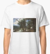 Jan Brueghel - The Garden Of Eden With The Fall Of Man1612 Classic T-Shirt
