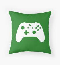 Xbox One Controller White Throw Pillow
