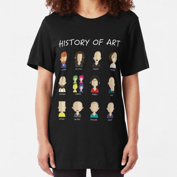 History of art Slim Fit T-Shirt