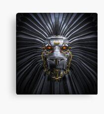 Lion Robot Canvas Print