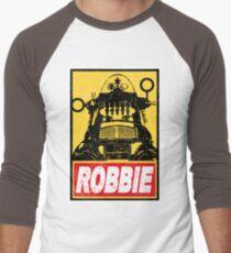 OBEY ROBBIE THE ROBOT  Men's Baseball ¾ T-Shirt