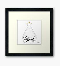 Cartel Bride Framed Print